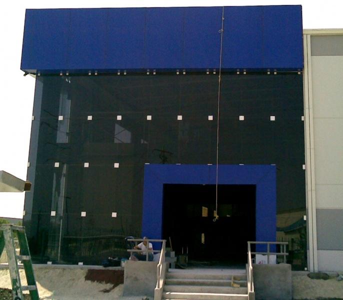 Productos fachadas de cristal templado aluminio y - Fachadas de cristal ...
